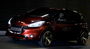 Peugeot 208 GTi Concept - Vido officielle