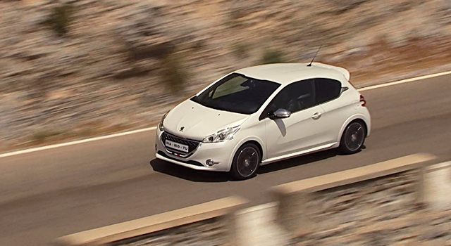 peugeot 208 gti blanc nacr satin vid o officielle vid os f line 208. Black Bedroom Furniture Sets. Home Design Ideas