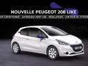 Publicité Peugeot 208 Like (2014)