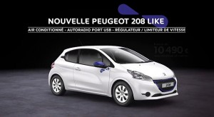 publicit s des peugeot 208 et 2008 f line 208. Black Bedroom Furniture Sets. Home Design Ideas