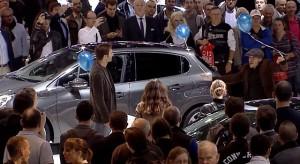 Vidéo : Animation Peugeot 208 au Mondial de Paris 2012