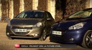 Présentation de la Peugeot 208 par Turbo (M6)