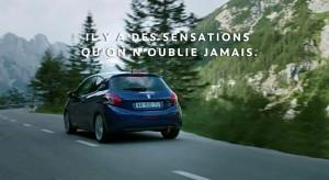 """Publicité Peugeot 208 """"Il y a des sensations qu'on n'oublie jamais"""" (45s) – 2012"""