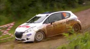 Vidéo Peugeot 208 Rally Cup 2013 - Rallye Terre de Langres (3/7)