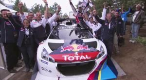 Premières images de la course - Peugeot 208 T16 Pikes Peak 2013