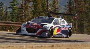 Vidéo Peugeot 208 T16 Pikes Peak : Premiers essais officiels à Pikes Peak !