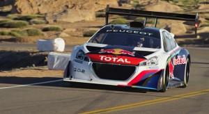 Résumé de l'aventure Peugeot 208 T16 Pikes Peak 2013
