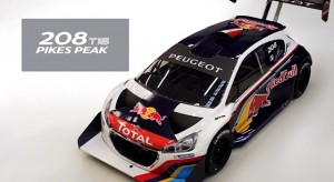 Montage de la Peugeot 208 T16 Pikes Peak 2013 (timelapse)