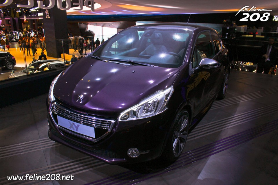 peugeot 208 xy 1 6 thp 155 purple night mondial de paris. Black Bedroom Furniture Sets. Home Design Ideas