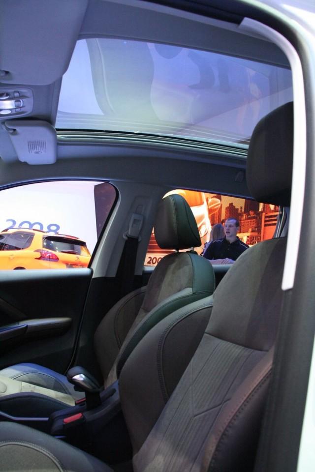 Toit En Verre Panoramique Tvp Peugeot 2008 F 233 Line Cuivre