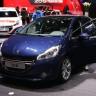 Peugeot 208 Allure Bleu Virtuel - Salon de Genève 2013 - 1-001