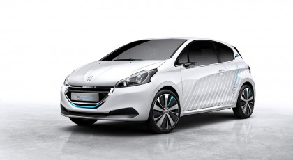 Photos Peugeot 208 HYbrid Air