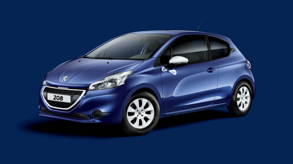 photo officielle peugeot 208 like bleu virtuel 2014 photos peugeot 208 2008 f line 208. Black Bedroom Furniture Sets. Home Design Ideas