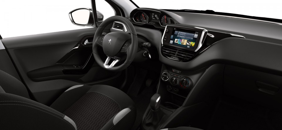 Photo int rieur peugeot 208 style photos peugeot 208 for Interieur peugeot 208