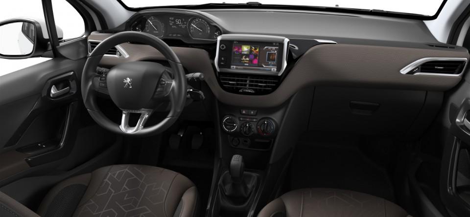 Tableau de bord int rieur tissu tokyo brundy peugeot for Peugeot 2008 interieur