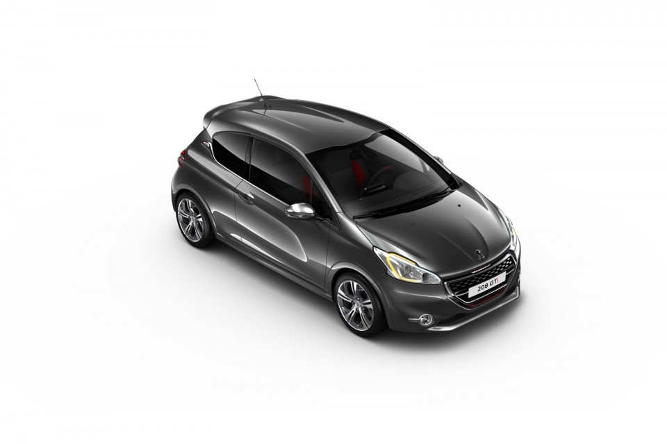 photo peugeot 208 gti gris shark 04 photos peugeot 208. Black Bedroom Furniture Sets. Home Design Ideas