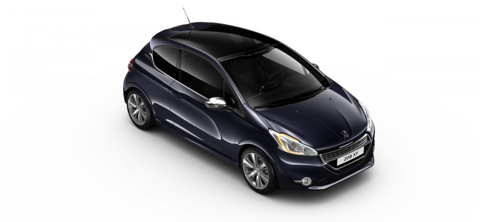 photo peugeot 208 xy dark blue bleu encre 04 photos. Black Bedroom Furniture Sets. Home Design Ideas