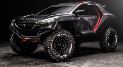 Photos Peugeot 2008 DKR (Dakar)