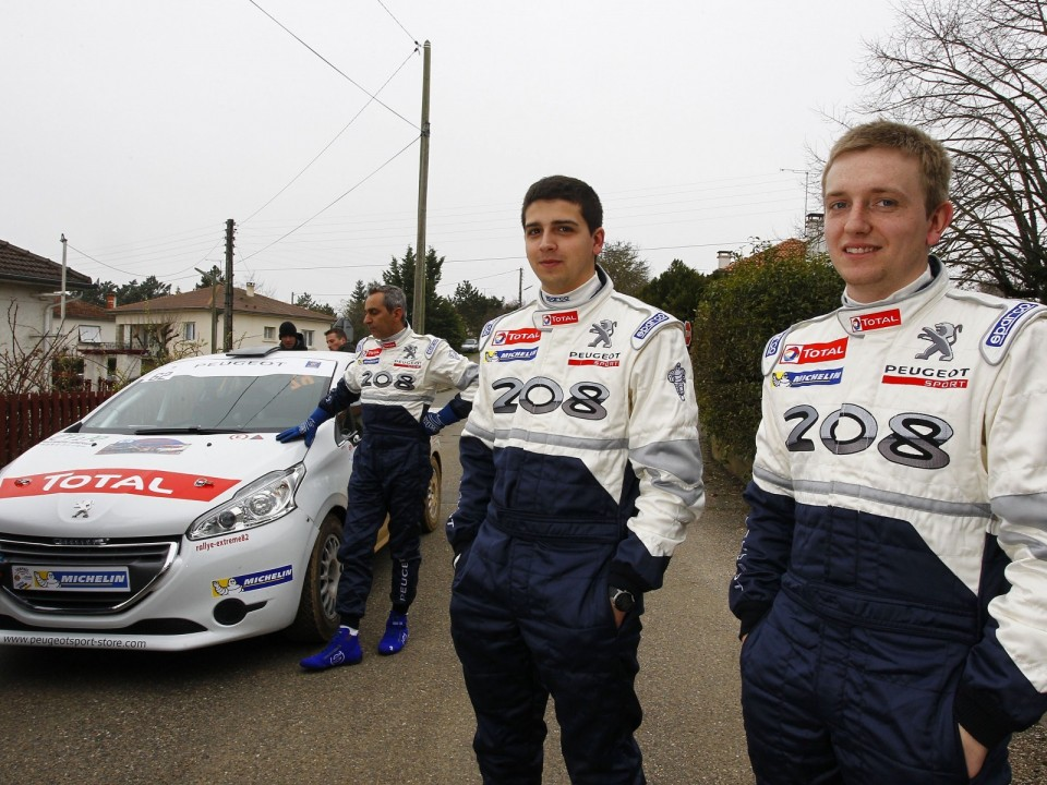 Frederic HAUSWALD & Gaetan WIRTH - Peugeot 208 R2  - Terre des Causses - 208 Rally Cup France 2013 - 030