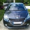 Photo Peugeot 208 Gris Shark